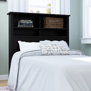 rossford traditional twin bookcase headboard