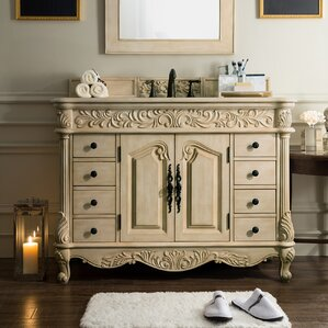 Light Wood Vanities For Bathrooms light wood bathroom vanities you'll love | wayfair