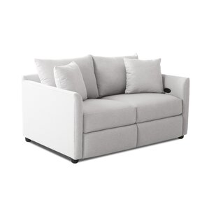 Wayfair Custom Upholstery? Georgia Reclining Loveseat