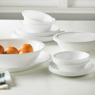 Livingware 74 Piece Dinnerware Set Service for 12 & Cornell Dishes | Wayfair