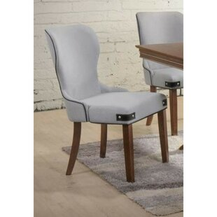 Santoyo Wingback Upholstered Dining Chair (Set of 2)