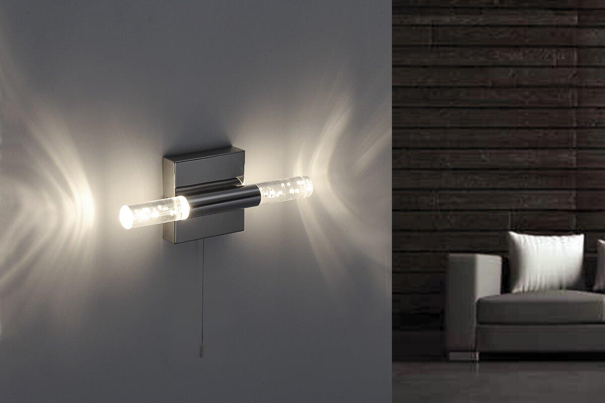 paul neuhaus design wandleuchte 2 flammig bubbles. Black Bedroom Furniture Sets. Home Design Ideas