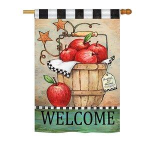 Apple Basket Food 2 Sided Polyester 24 X 34 Ft House Flag