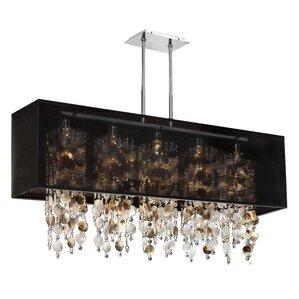 Modern Rectangular Chandeliers rectangular chandelier fixture | wayfair