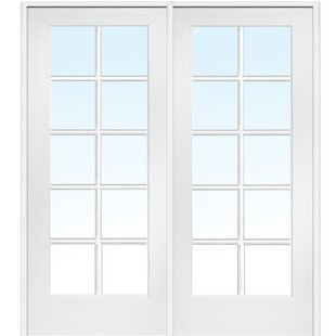 Beau MDF 2 Panel Primed Interior French Door