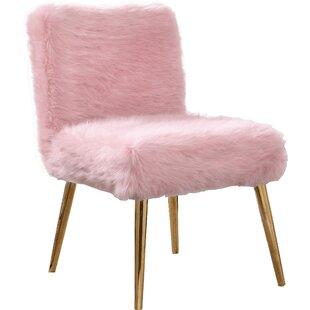 Genial Pink Velvet Tufted Chair | Wayfair
