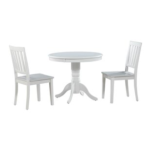 Cedarville 3 Piece Solid Wood Dining Set
