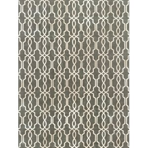 Pearle Hand-Woven Silver Area Rug