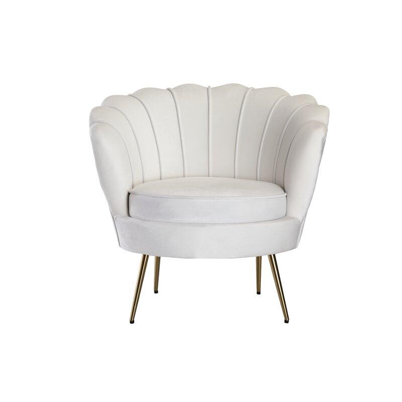 Everly Quinn Dominick Barrel Chair Wayfair
