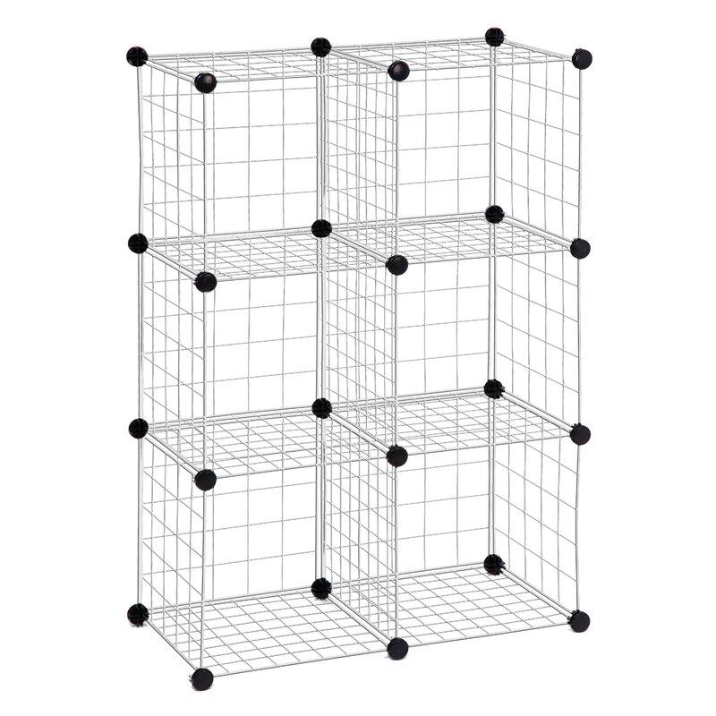 honey can do modular mesh storage cube shelving unit  u0026 reviews
