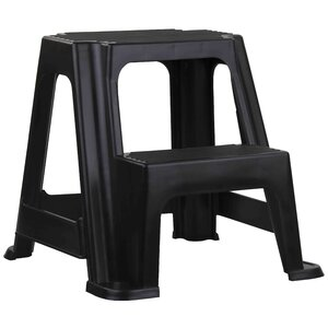 2-Step Plastic Step Stool