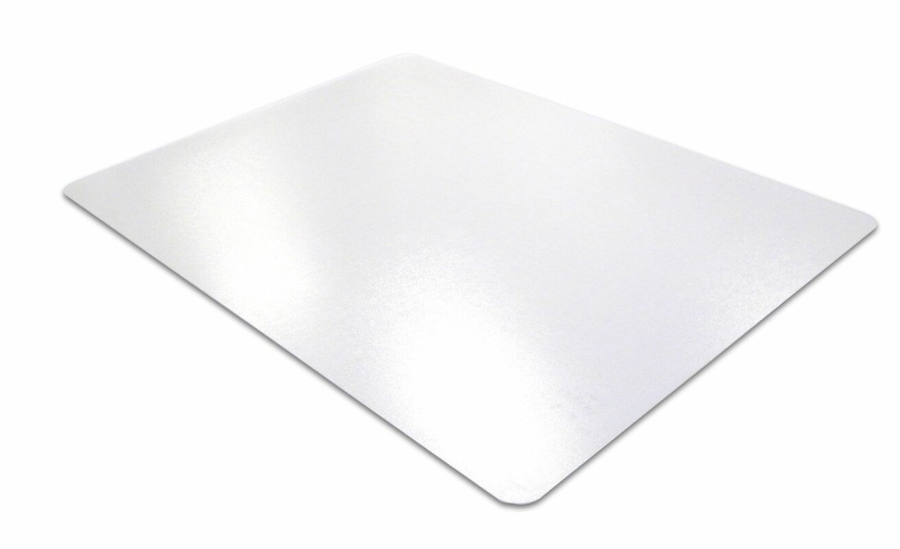 cleartex unomat hard floorlow pile carpet straight chair mat