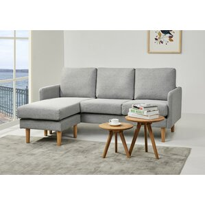 Florez Reversible Sectional by Ivy Bronx