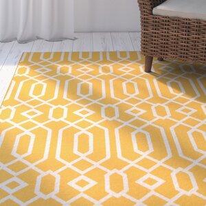 Halliday Yellow Indoor/Outdoor Area Rug