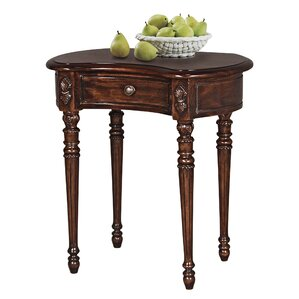 Bournemouth Manor Kidney End Table by Design..