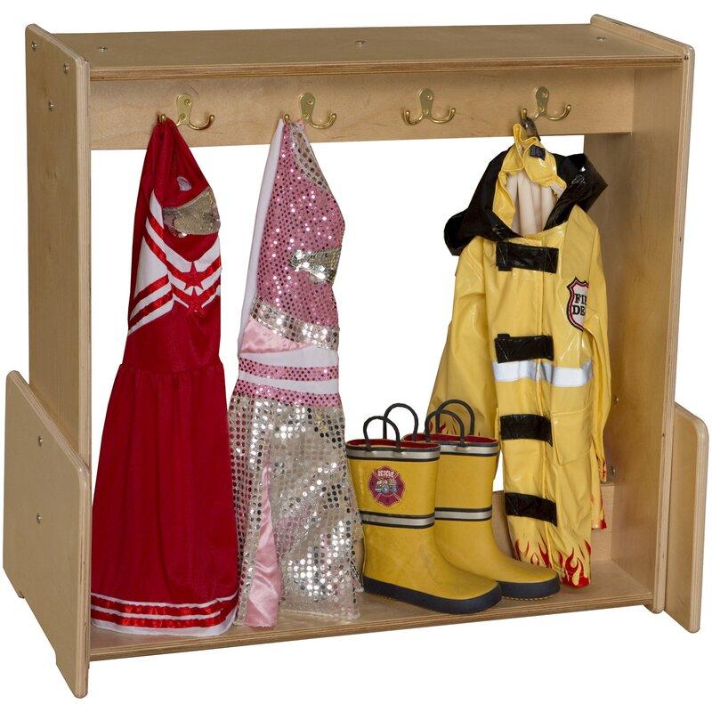 Wood Designs Contender Dress-Up Center Armoire | Wayfair