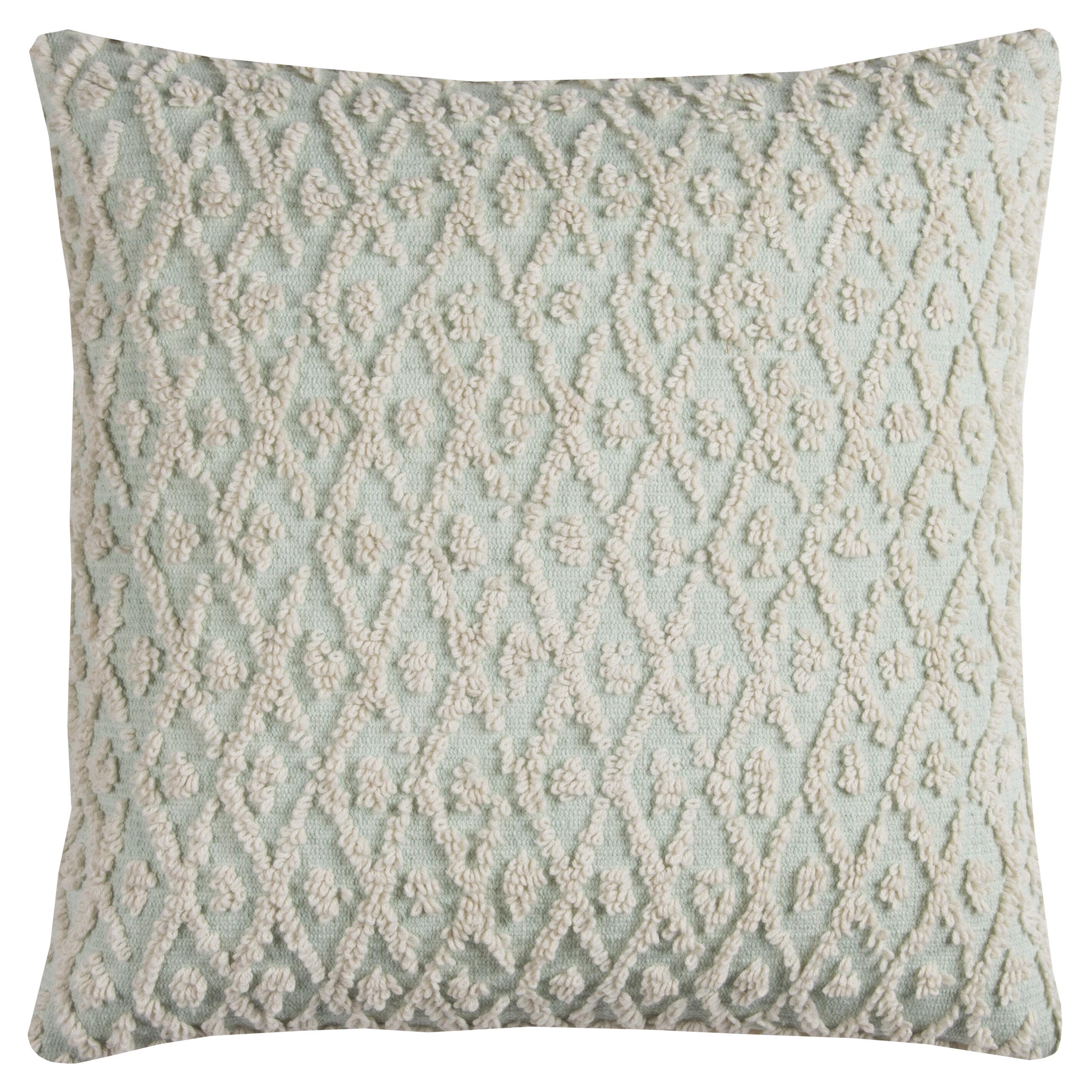 Birch Lane™ Diamond 100% Cotton Pillow Cover & Reviews | Birch Lane