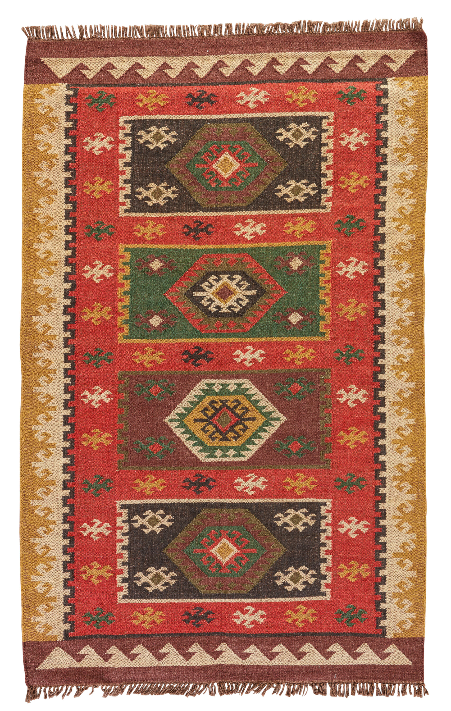 Bloomsbury Market Addre Redyellow Area Rug Reviews Wayfair