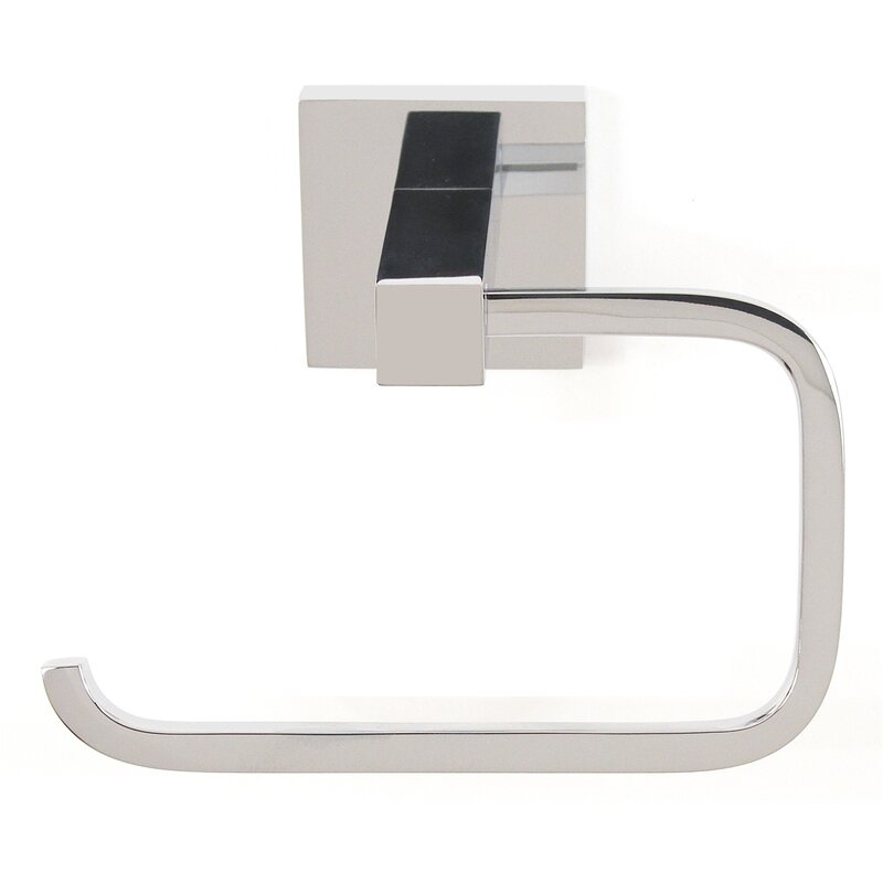Alno Contemporary II Single Post Wall Mount Toilet Paper Holder