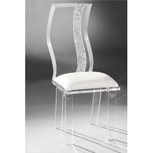 Wave Acrylic Side Chair