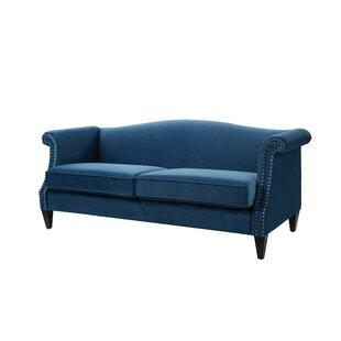 navy blue suede sofa wayfair rh wayfair com blue suede sofa slipcover royal blue suede sofa