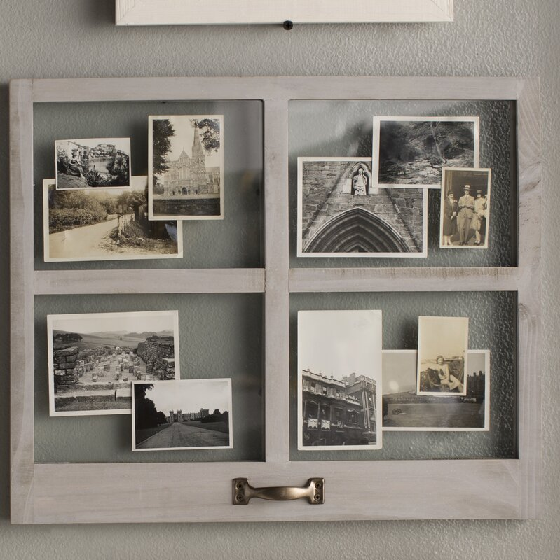 Charlton Home 4 Opening Distressed Floating Collage Frame & Reviews ...