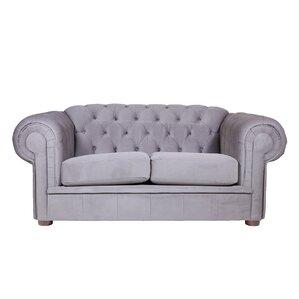 Alexa II Chesterfield Loveseat by REZ Furniture