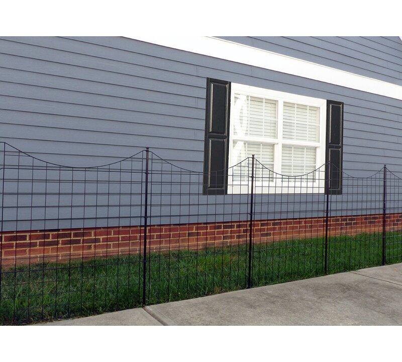 W Garden Fence Panel