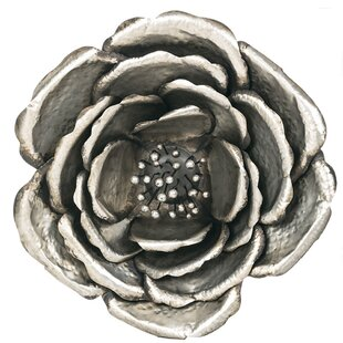 Silver Flower Wall Decor Wayfair