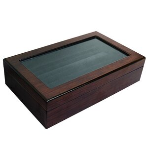 Wooden Ring Inserts Organizer Jewelry Box