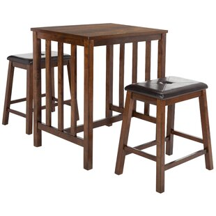 Vanderpool 3 Piece Pub Table Set