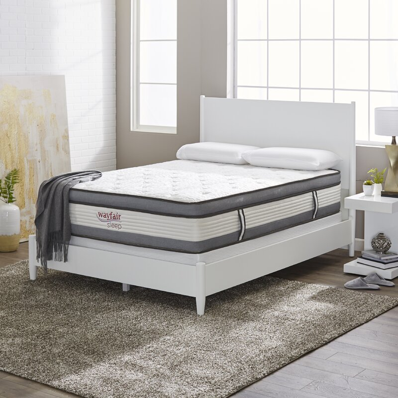 Wayfair Sleep Plush Hybrid Mattress & Reviews