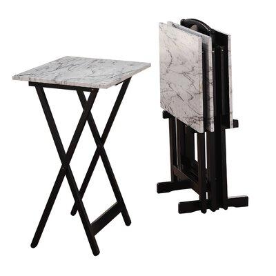 Reitman 5 Piece TV Tray Set  sc 1 st  AllModern & Bamboo Rectangular Snack Tray Table \u0026 Reviews | AllModern