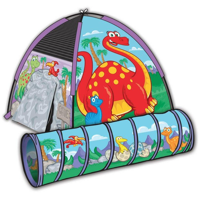 Dinosaur 6u0027 Tunnel  sc 1 st  Wayfair & Pacific Play Tents Dinosaur 6u0027 Tunnel u0026 Reviews | Wayfair