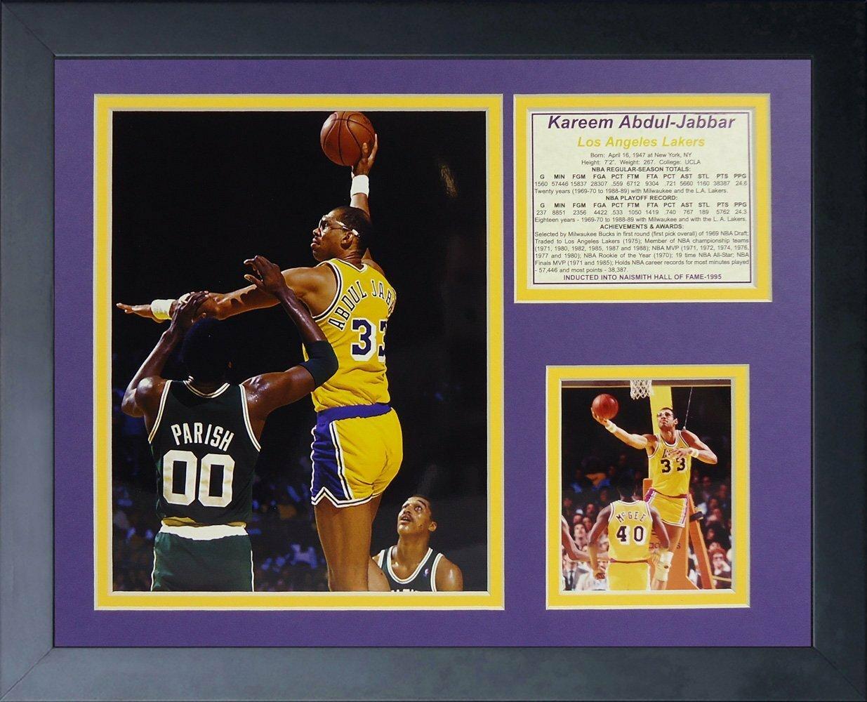 4d8558a73bd Legends Never Die Kareem Abdul-Jabbar Framed Memorabilia