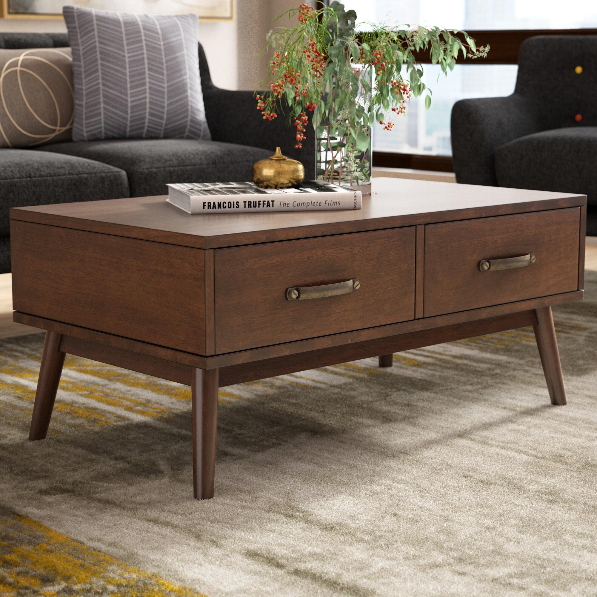 Charmant Morris Mid Century Modern Coffee Table
