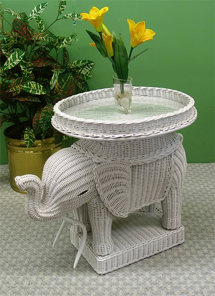 Amazing Elephant End Table