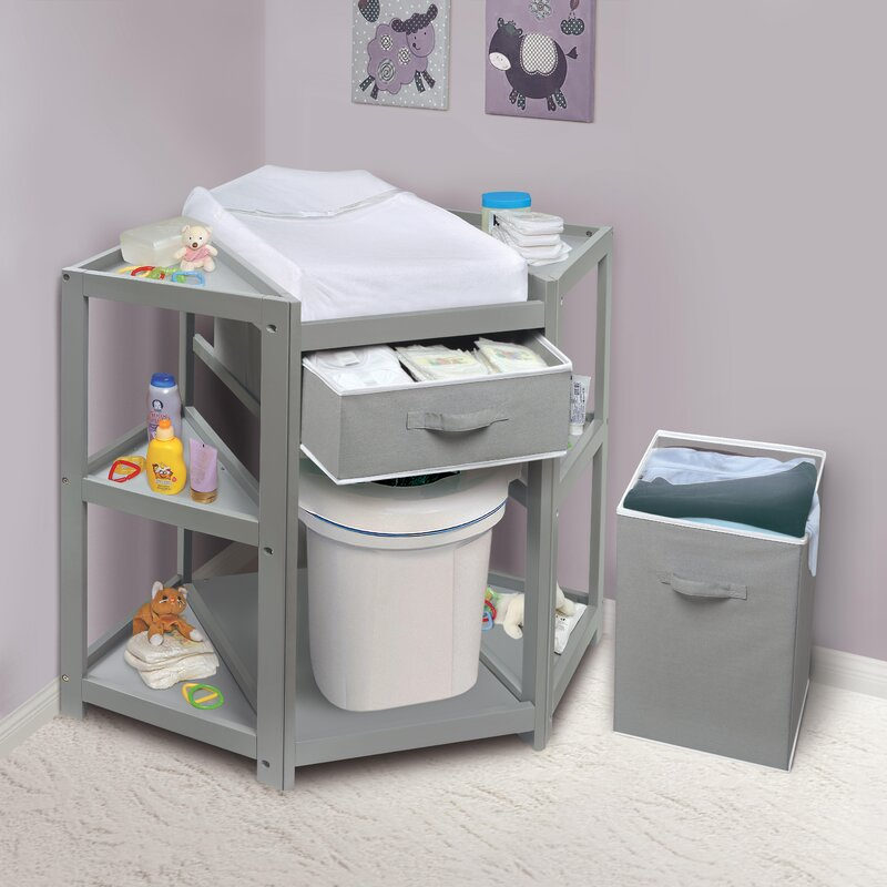 Genial Baby Changing Table. Diaper Corner Baby Changing Table