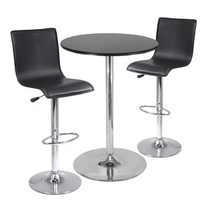 Colerain 3 Piece Pub Table Set by Latitud..