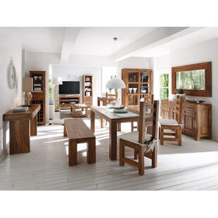 Cubus Dining Set With 5 Chairs And 1 Bench