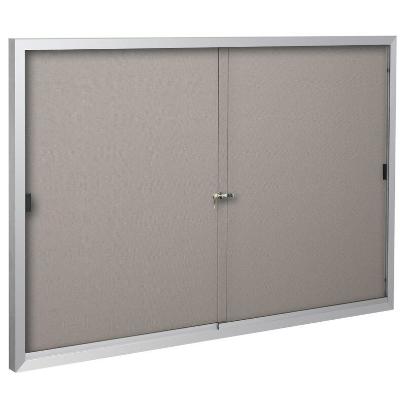 Standard Wall Mounted Enclosed Bulletin Board