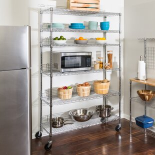 kitchen shelving you ll love wayfair rh wayfair com small shelf unit for kitchen shelving unit for kitchen wall