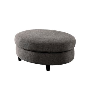 Avallone Contemporary Ottoman by Mercury Row