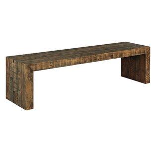 . Modern   Contemporary Small Wood Bench   AllModern
