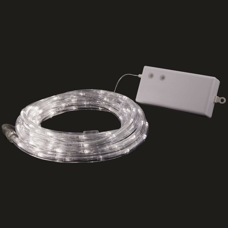 Pacific accents 100 led outdoorindoor battery powered rope light 100 led outdoorindoor battery powered rope light aloadofball Images