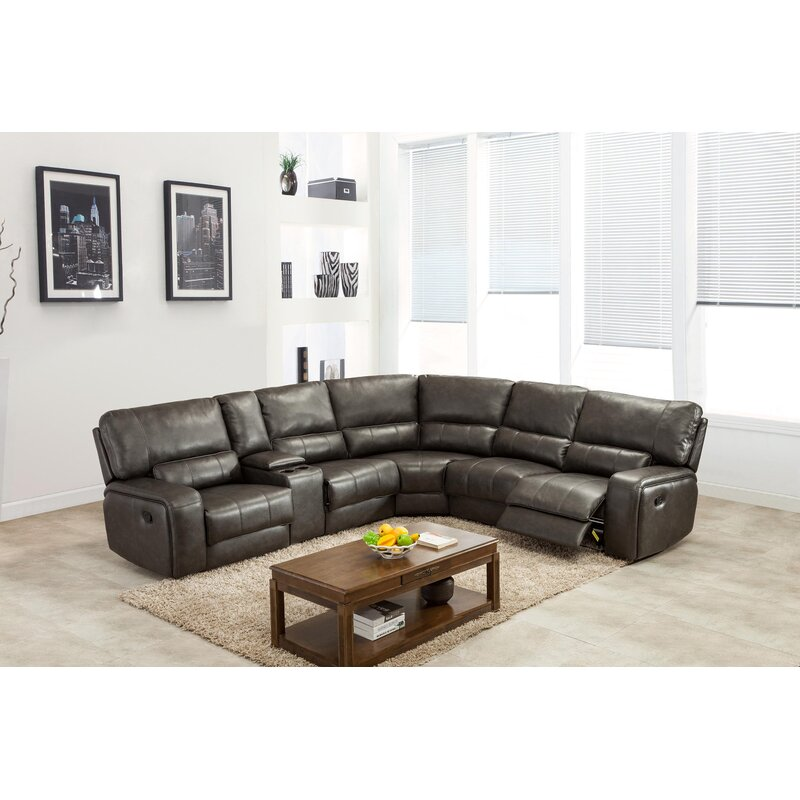 Trower Upholstered Reclining Sectional
