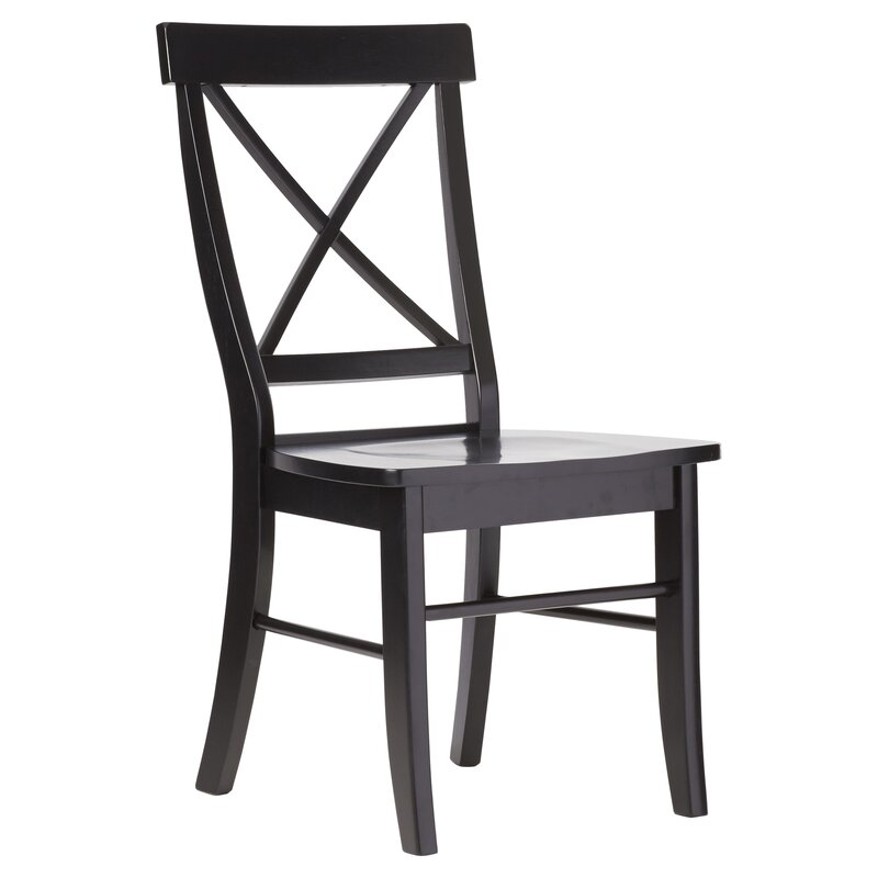 Nice Sawyer Cross Back Solid Wood Dining Chair