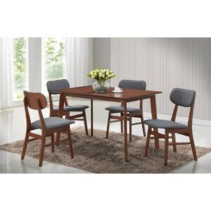 Sacramento 5 Piece Dining Set by Roundhill Furniture