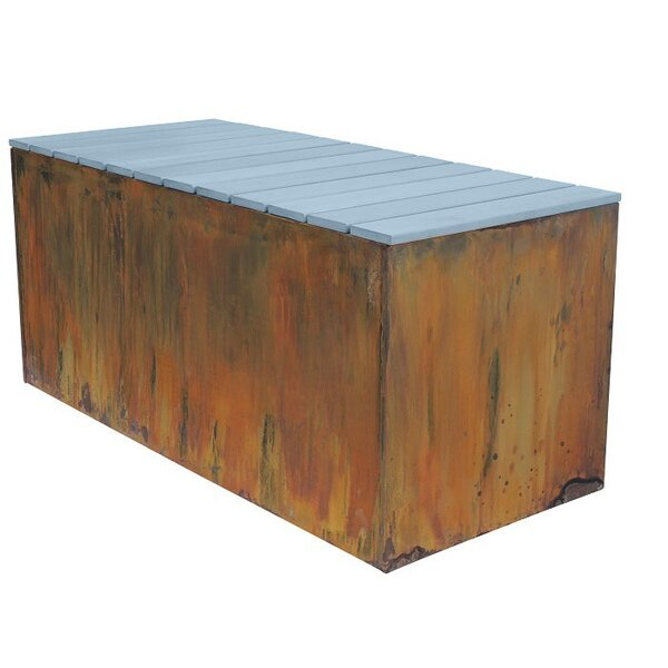Aluminum Planter Bench