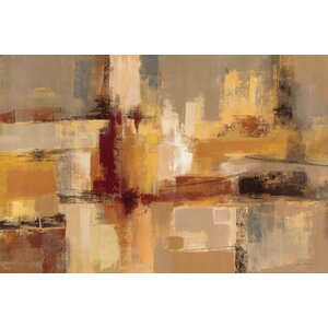 'Sandcastles' Painting Print on Wrapped Canvas